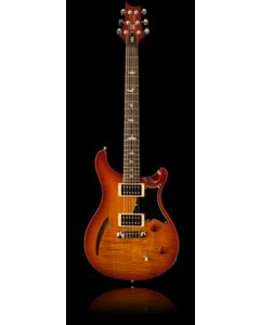 PRS SE Custom Semi-Hollow, Vintage Sunburst