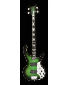 Dudacus Tiberius 4 Bass Envy Green Burst