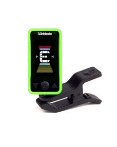 D'Addario Eclipse Headstock Tuner Green PW-CT-17GN