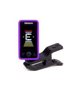D'Addario Eclipse Headstock Tuner Purple PW-CT-17PR