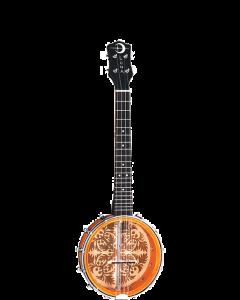 """Luna Uke Banjolele 8"""" Banjo Ukulele"""