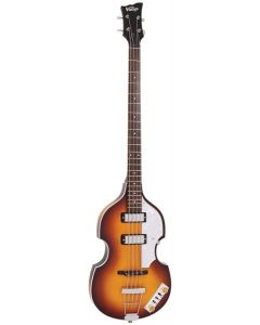 Vintage VVB4SB Violin Bass Antique Sunburst w/Case