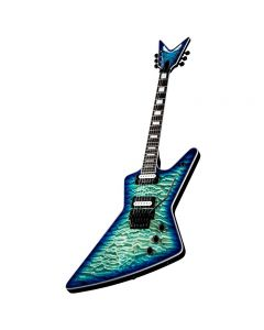 Dean Z Select Floyd Quilt Top Ocean Burst Electric
