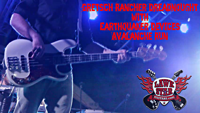 GRETSCH RANCHER DREADNOUGHT WITH EARTHQUAKER DEVICES AVALANCHE RUN